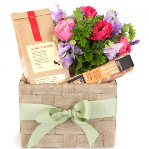 Tea and Posy Basket